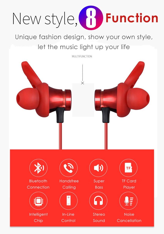 Aimitek XT-22 Magnetic Bluetooth Earbuds-7