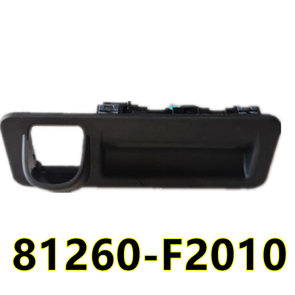 Rear trunk rear box switch button luggage lock in handle touch switch For Hyundai Elantra AD
