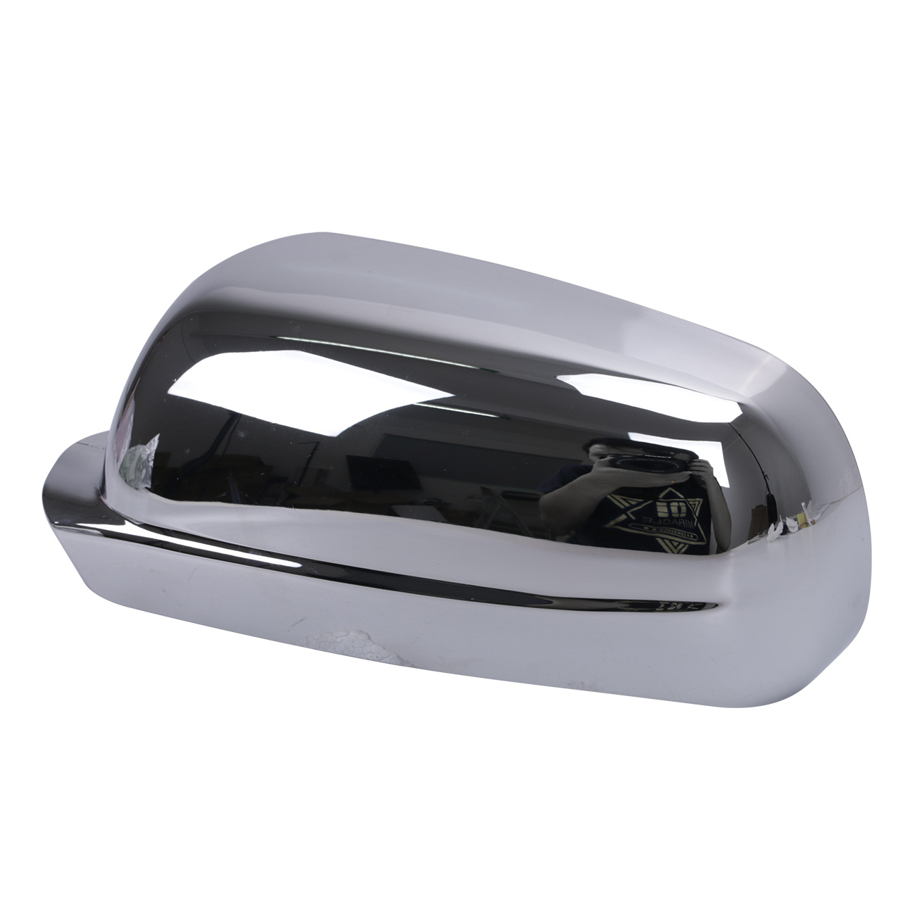 Car accessories left side rearview mirror case side mirror chrome cover for vw golf mk4 jetta