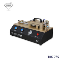 TBK 765 3 in 1 Auto OCA Film Machine Built in Vacuum Pump Air Compressor Polarizer Film Laminating Machine for iPhone Samsung