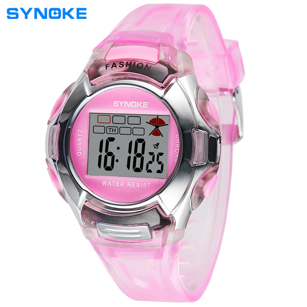 Famous brand SYNOKE children watch Boys and girls