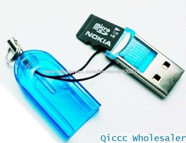 Mini USB 2.0 Micro SD TF TF-FLASH Memory Card Reader/Keyring USB mini SD SDHC TF CARD READER 2GB 8GB 16GB