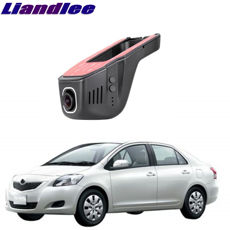Liandlee For Toyota Belta / Yaris / Vios / Limo 2006~2016 Car Black Box WiFi DVR Dash Camera Driving Video Recorder цена