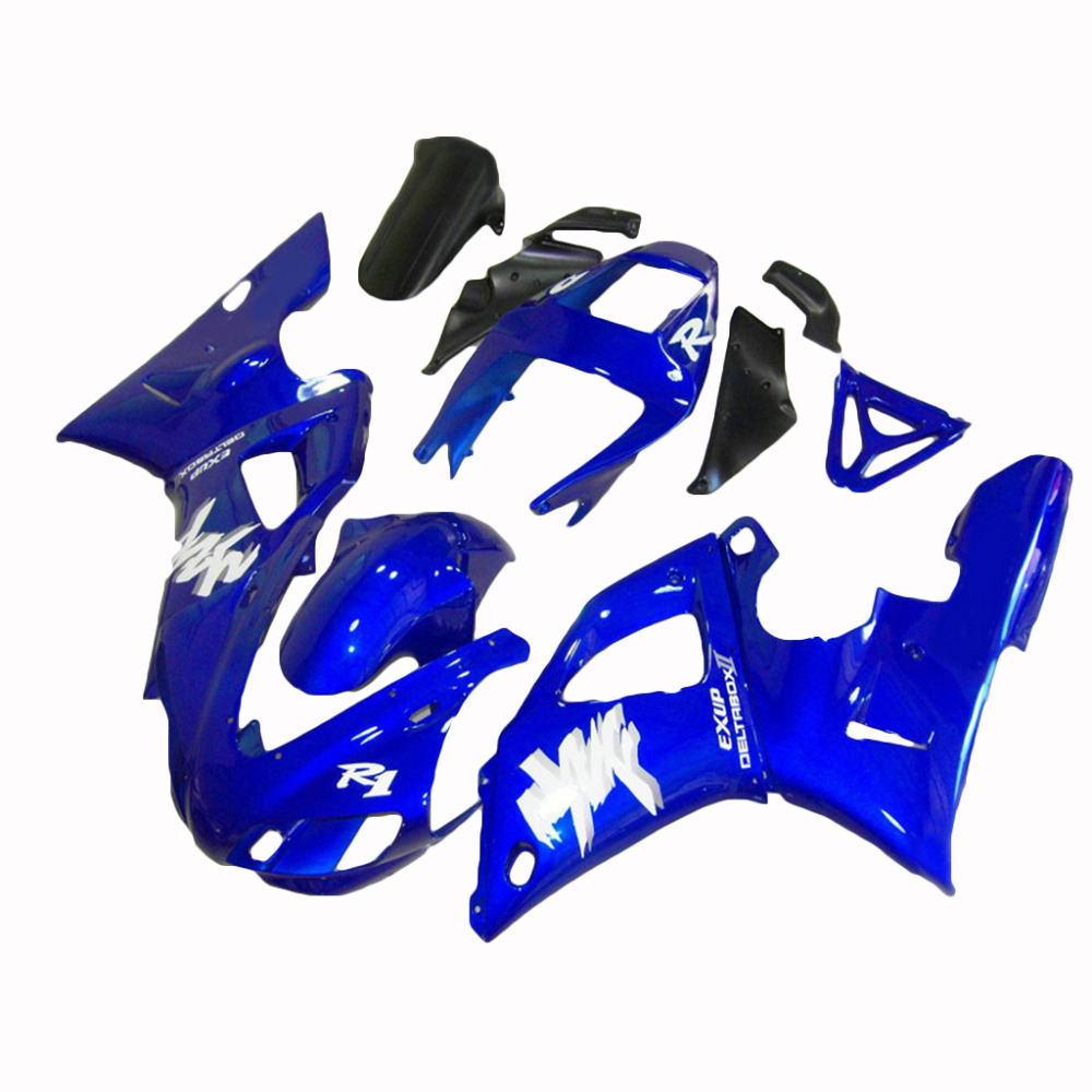 High Quality ABS Plastic Fairings Kit For 1998 1999 Dark Blue R1 YZF R1 Fairing Kit