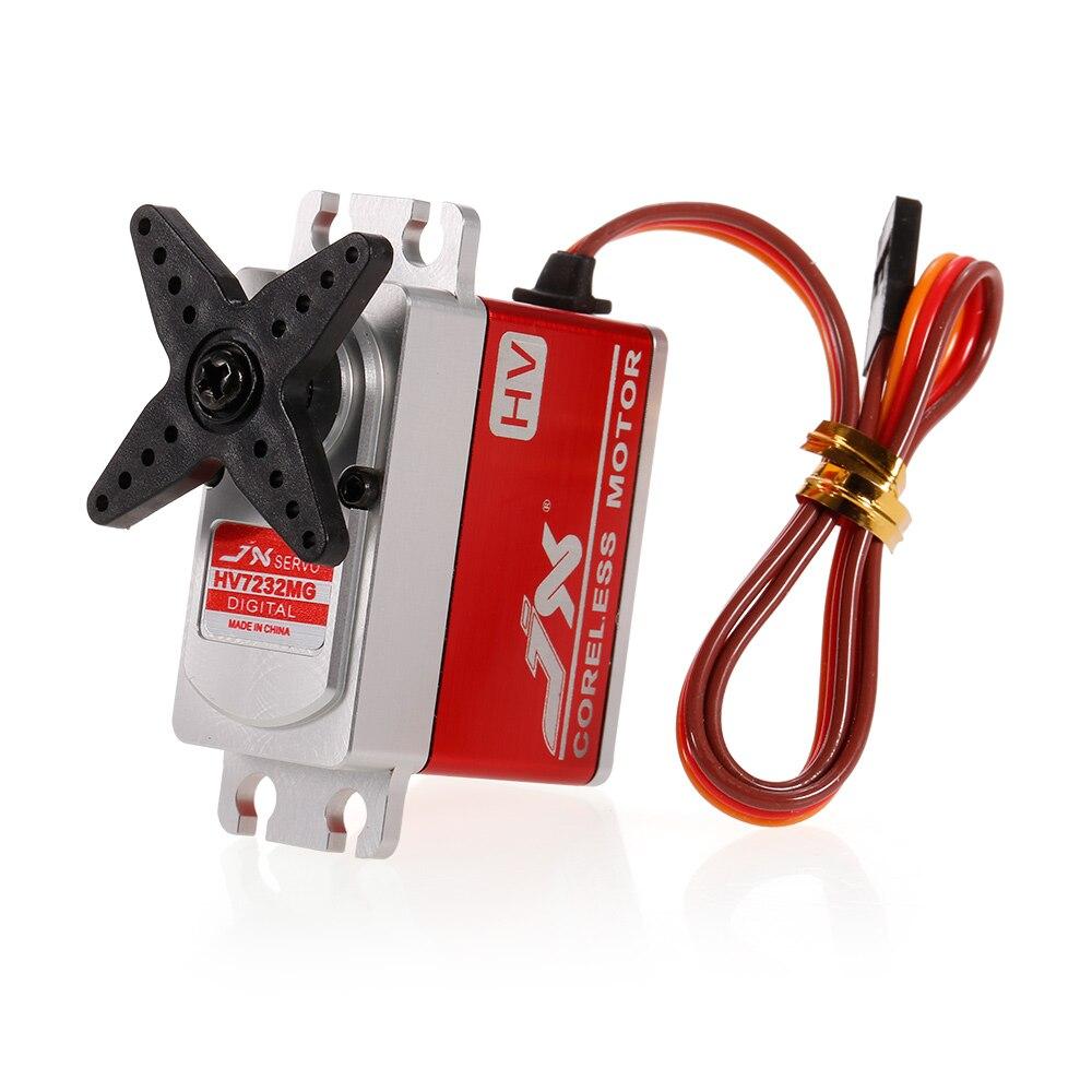 PDI HV7232MG 6V 8 4V 0 09sec 60 Digital Coreless Motor Servo 31 5kg Torque Aluminums