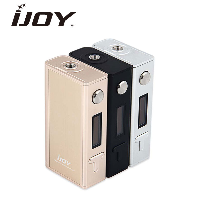 Clearance IJOY Asolo 200W Box Mod VW / TC Variabel Watt Temp Tempor Mod för RDA RTA Tank nr 18650 Batteri VS Alien / Pd1865