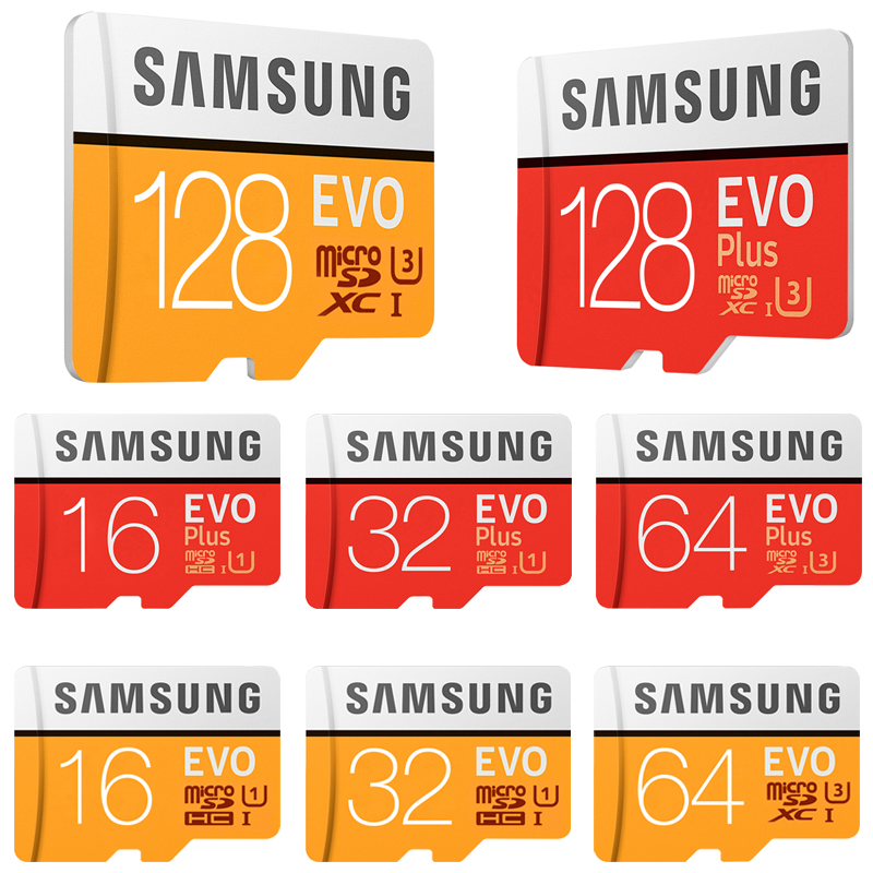 Original SAMSUNG Micro SD Memory Card 16GB 32G 64G 128G 256G MicroSD Cards SDHC SDXC Max 95Ms EVO 32GB 64GB C10 TF Trans Flash все цены