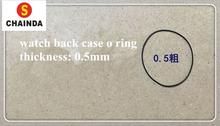 Darmowa wysyłka wysokiej jakości 20 sztuk 0 5mm gruby zegarek uszczelka o-ring wybierz rozmiar 22-40mm do naprawy zegarków zegarek obudowa tylna tanie tanio JIATIMES Zegarki dla części rubber 0 1kg 0 1inch WR-03 10inch watch o ring Narzędzia do naprawy i zestawy 2inch