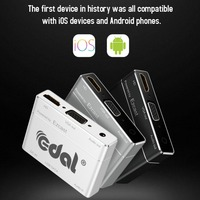 EDAL S8pro USB/Micro USB To HDMI/VGA/Audio Converter Digital AV Adapter Power By EZCast For IOS/Android Mobile Phone Tablet
