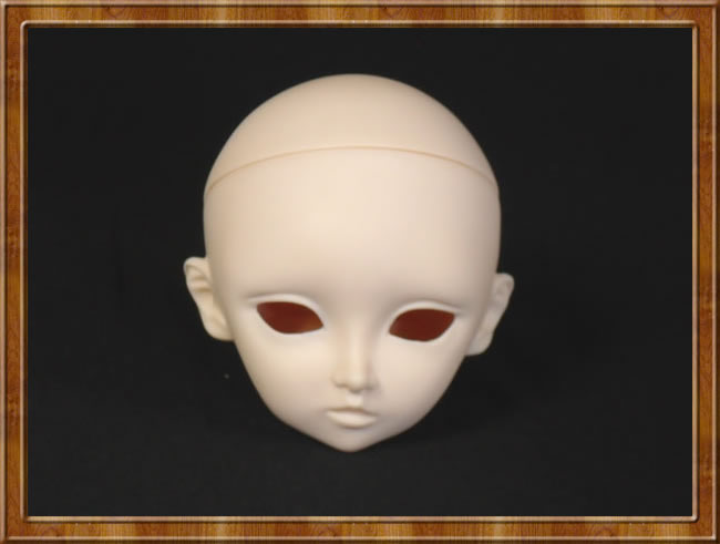 1/3 BJD Doll DIY Makeup For Face Bjd Head Accessories Dreessing Maintenance uncle 1 3 1 4 1 6 doll accessories for bjd sd bjd eyelashes for doll 1 pair tx 03