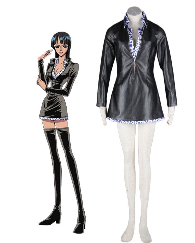 Une pièce Nico Robin Cosplay Costume sur mesure toute taille