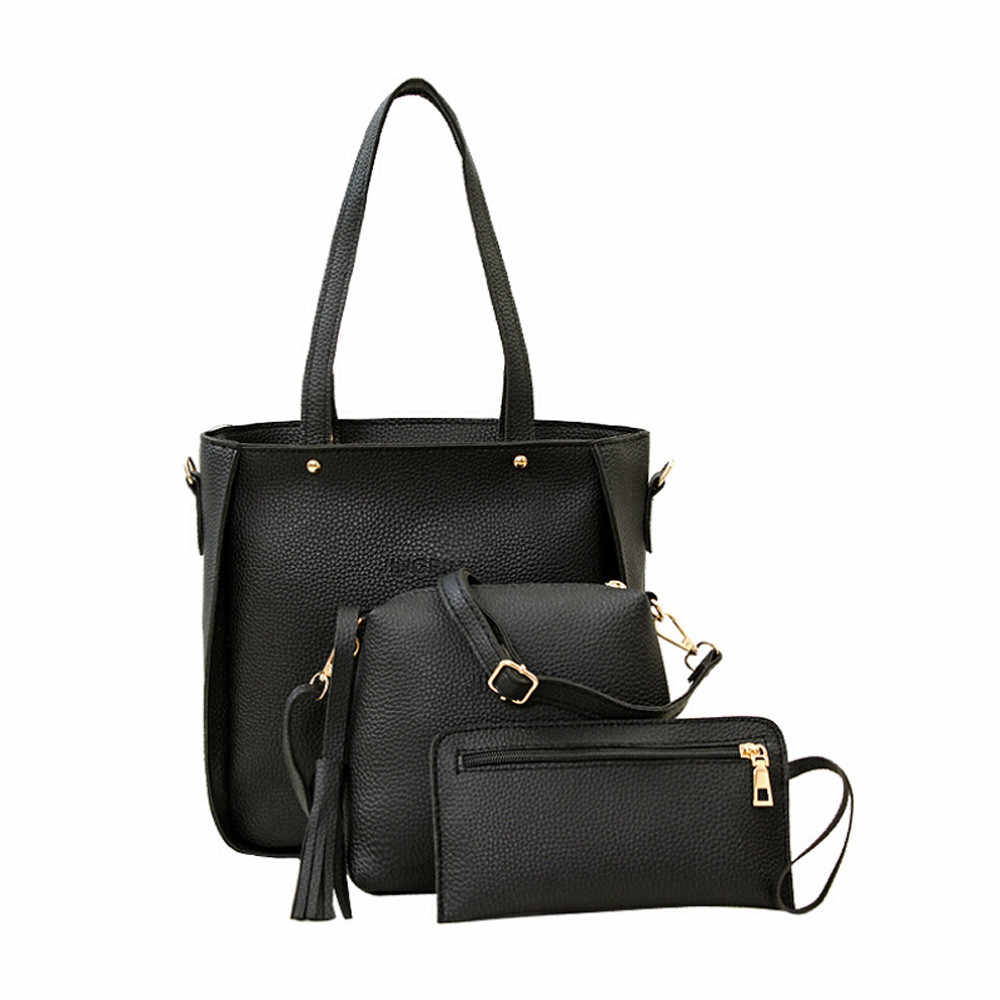 7120c39c25f3 Detail Feedback Questions about ISHOWTIENDA 3 Pcs Set Women Handbags ...