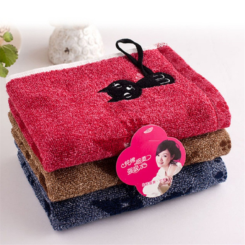 70x140cm Civet cats bath towel thicken and pure cotton Bathroom Beach Towel for Adult Commodity Multifunction
