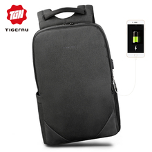 Tigernu 2019 Men Light Anti Theft Backpack for Male Women La