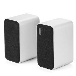 Image 4 - Orijinal Xiaomi Bluetooth bilgisayar hoparlör taşınabilir çift bas Stereo kablosuz hoparlör Bluetooth4.2 desteği sesli arama
