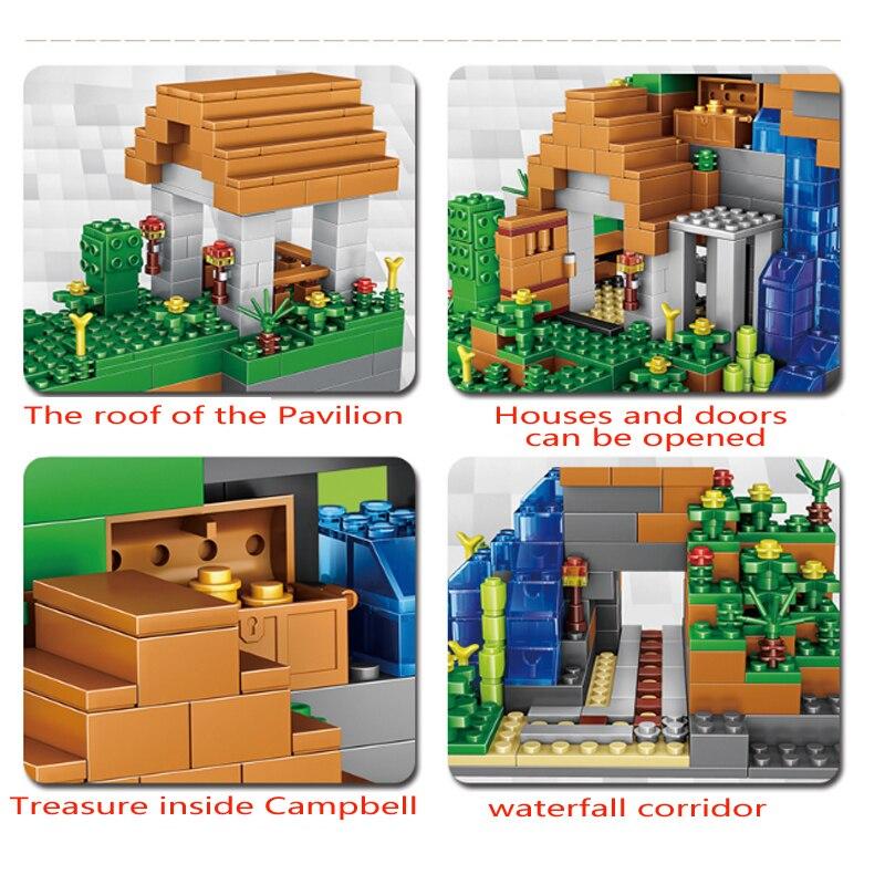 Qunlong-957pcs-Blocks-Figures-Toy-For-Kids-Compatible-Legoe-Minecrafted-City-Building-Blocks-Set-Education-Toys (4)