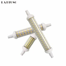 Lâmpada de led 6w 9w 12w lattuso r7s, smd 2835 78mm 118mm 135mm r7s led lâmpada de halogênio para economia de energia ac220v