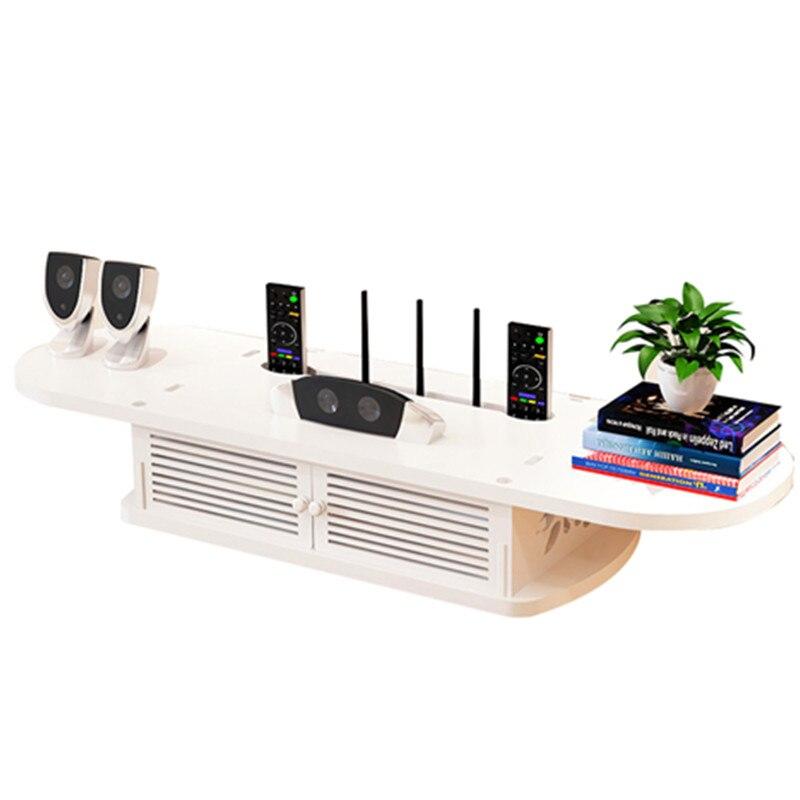 Poinçon gratuit mur meuble Tv assemblage Muebles meuble Tv meuble creux Design meuble rangement faux support en bois Hot ordinateur Stands