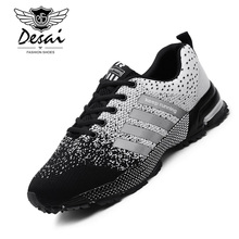 2019 Spring Fashion Trend Casual Shoes Men Lovers Sneaker Unisex Men Couple Shoes Large Size Comfortable Mesh Platform Shoes