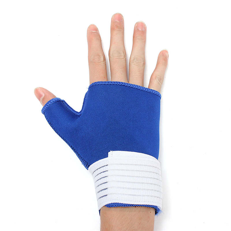 1 Pair Professional Breathable Elastic Sports Safety tennis Wrist Bandage Brace Thumb Wrap Hand Wrist Brace Support