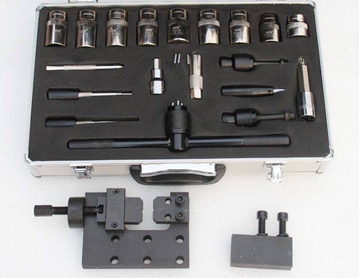 BST3012 common rail injector disassembly and dismounting tool kits repair tool 20pc