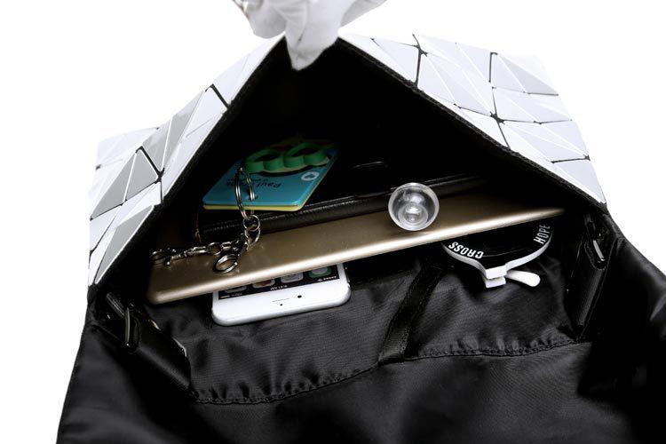 ca460e9b4ef8 New Fashion Brand baobao bag Shoulder Messenger Bag Mirror Saser Plain  Split Joint Mujer Shoulder Bags Large Top Handle Tote-in Shoulder Bags from  Luggage ...