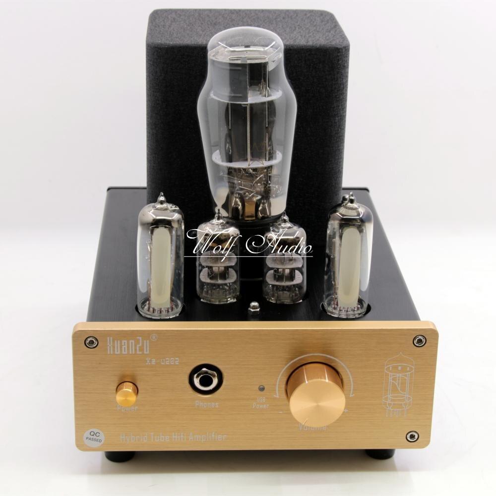 U202 Hybrid Class A Tube Headphone Amplifier USB DAC Audio Decorder HiFi Valve Preamp