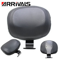 For Honda VTX 1800 Motorcycle Driver Backrest Back Rest Sissy Bar Pad