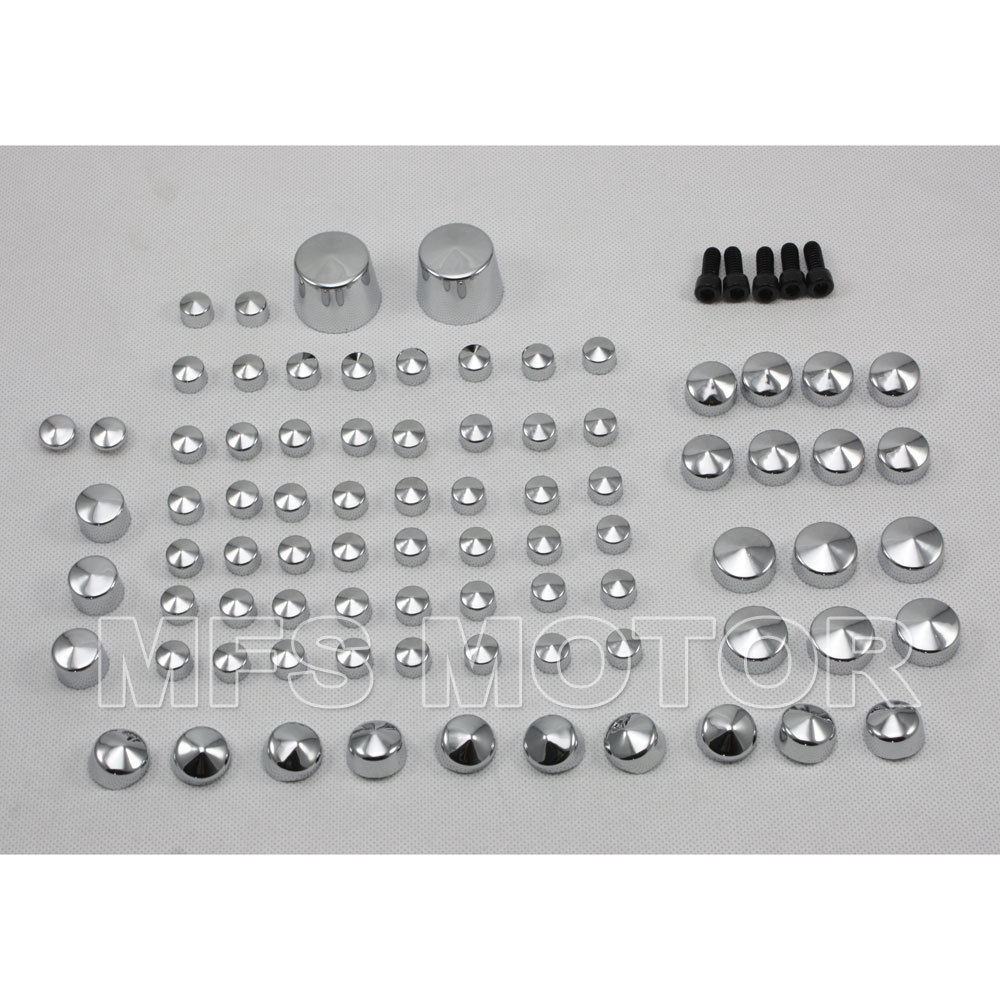 Motorcycle Part Bolt Toppers Cap For Harley Softail Twin Cam 2007&Up Chrome 2007 2008 2009 2010 2011 07 08 09 10 11 aftermarket free shipping motor parts toppers caps for 2007 2008 2009 2010 2011 2012 harley davidson softail twin cam chrome