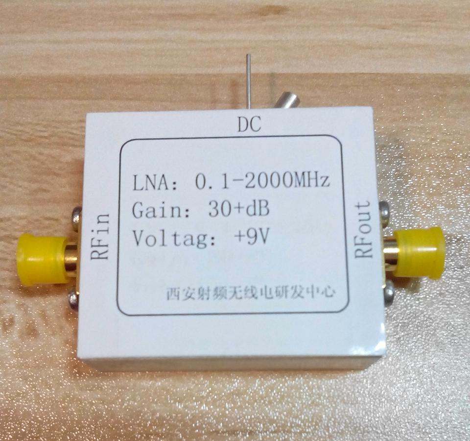 RF broadband LNA 0.1-2000MHz amplifier 30dB high frequency amplifier rf broadband lna 0 1 2000mhz amplifier 30db high frequency amplifier