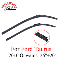 26 20 Pair Windscreen Front Wiper Blades For Ford Taurus 2010 Onwards Fit Windshield Natural Rubber