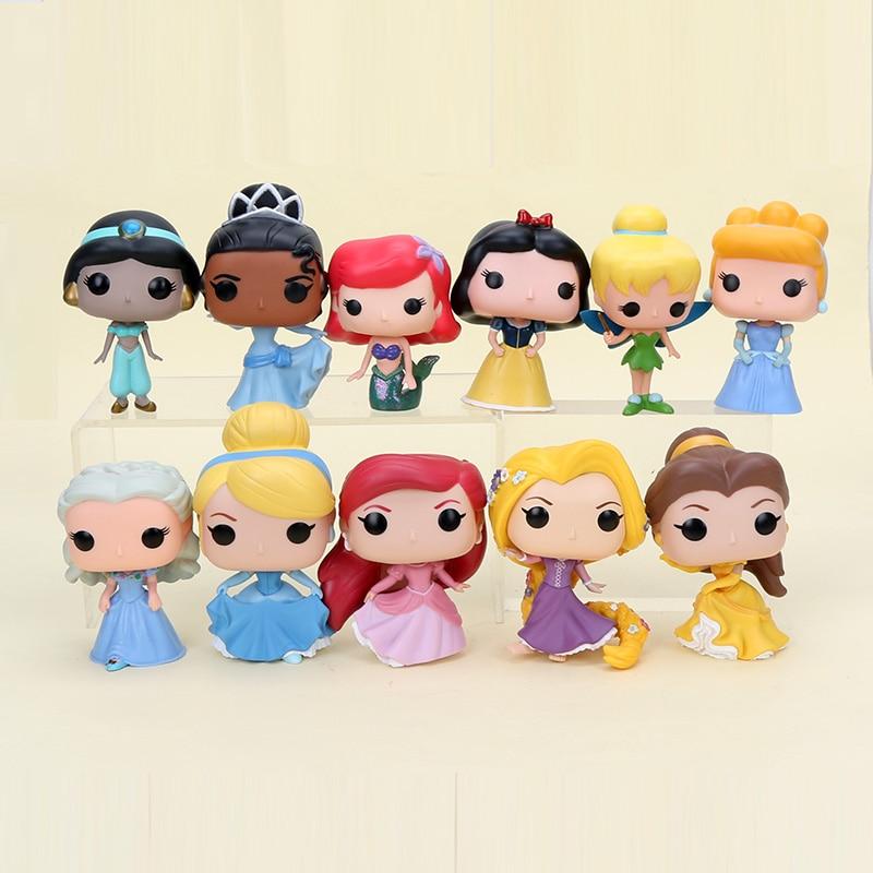 10cm-q-vision-princess-snow-white-tiana-cinderella-ariel-font-b-hatsune-b-font-miku-rapunzel-belle-action-figure-toy-model-doll