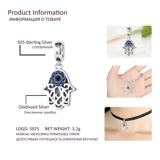 925 Sterling Silver Charms  3