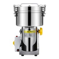 Stainless Steel Large Powdering Machine Superfine Grinder Traditional Chinese Medicine Grinder Home Electric Blender