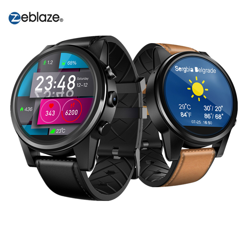 Smart Watch Zeblaze THOR 4 PRO Android watch men's fashion watch 1.6 inch crystal display 1G+16G memory battery 600 mAh and GPS-in Smart Watches from Consumer Electronics    1