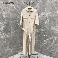 2019 женские широкие комбинезоны уличная одежда комбинезон элегантный белый комбинезон широкие брюки большие размеры натуральная кожа комб