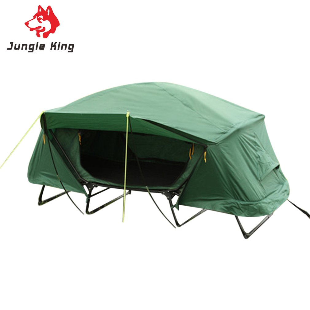 Two Person Off The Ground Camping Tent Outdoor Thermal Insulation Rainproof Waterproof For Fishing Picnic Hiking Camping outdoor the high ground imperials 1