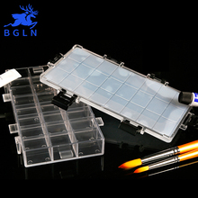 Buy Bgln Transparent Moisturizing Watercolor Paint Palette 24 Grid Professional Art Plastic Palette Watercolor Palette Art Supplies  directly from merchant!