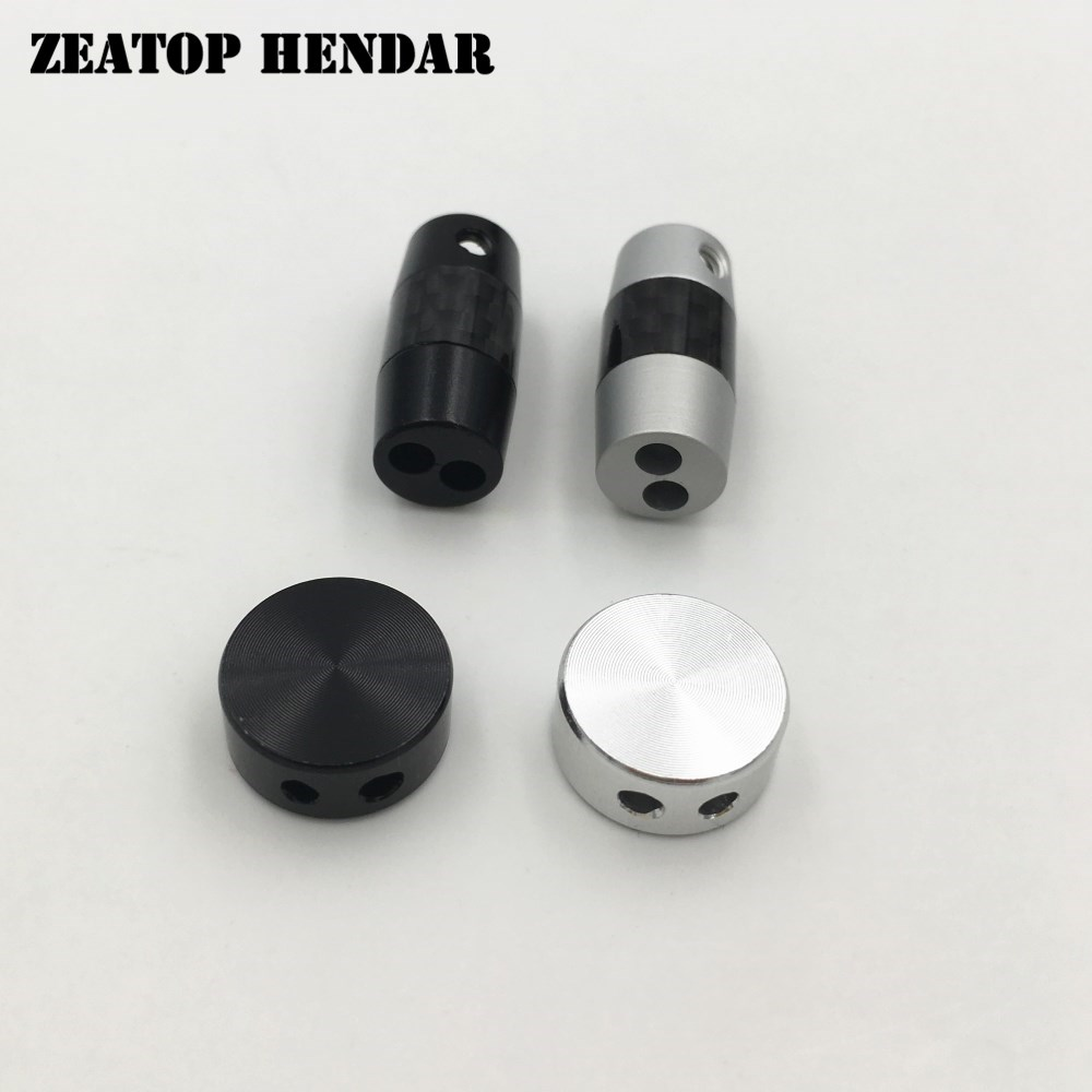 5Set Full Aluminum Slider Y Splitter Plug Audio Adapter for DIY Upgrade Earphone Headphone Cable