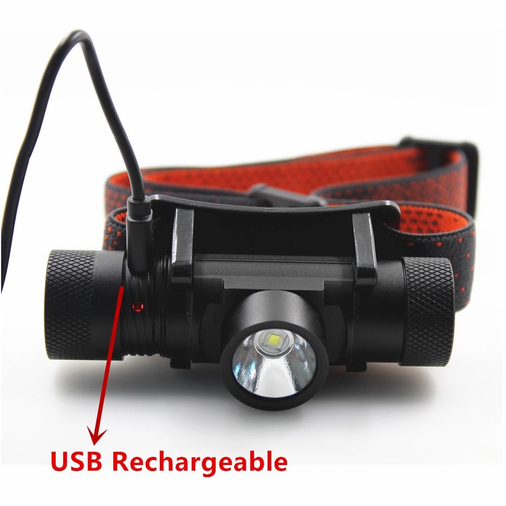 2017 New XML T6 USB Rechargeable headlamp Headlights headlight 18650 head lamp for camping led flashlight sitemap 47 xml