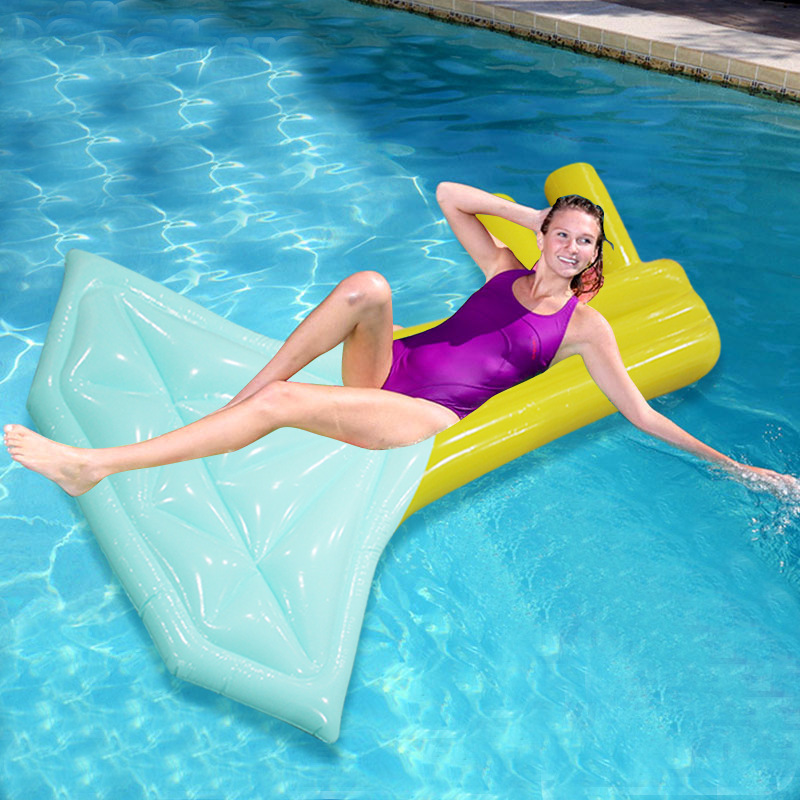 US $35.39 41% OFF|New Inflatable Air Mattress Mermaid Swimming Ring Pool  Float Diamond Key Shape Floating Mat Beach Swim Seat Bed Float Pool Toys-in  ...