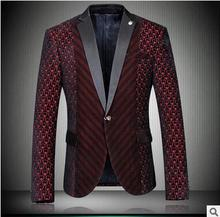 men jacket spring jacket men Spring Boutique casual men's Korean Slim small suit men's business suit jacket free shipping
