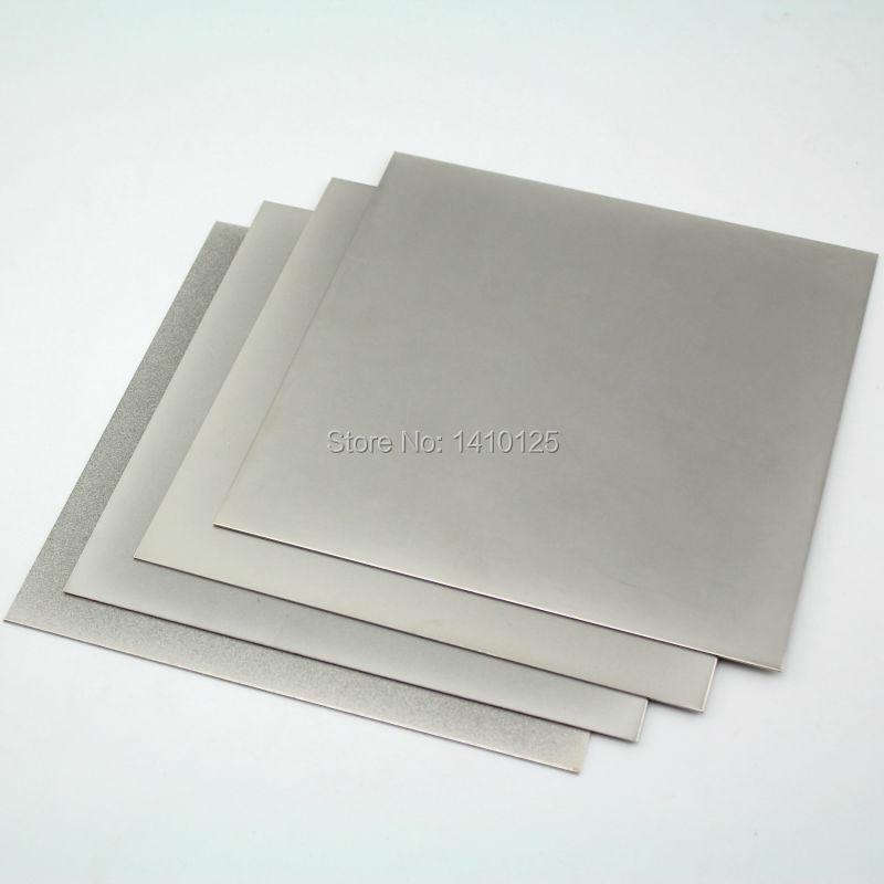 4Pcs 8 x8 inch Grit 240 600 1000 2000 Thin Square Sheet Flat Diamond Stone Sharpeners