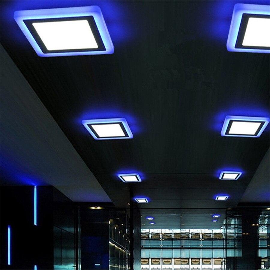 6W 24W vodio strop uvučen svjetlo Painel svjetiljka ukras okrugli - Unutarnja rasvjeta - Foto 6