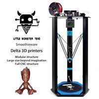 2017 Newest TEVO Little Monster 3D Printer TEVO Deltal Large Bed Open Builds Extrusion Smoothieware MKS