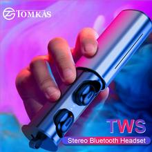 Mini Sport Wireless Earphone True TWS Earbuds Wireless Bluetooth 5.0 Headphones Headset For Android IOS Phone With Charging Box(China)