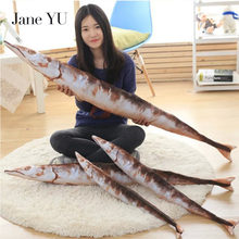 JaneYU Collection ship salted fish pillow celebrity show plush toys saury