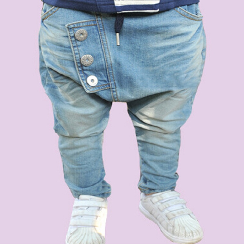 NZ209, Free Shipping 1pcs Hot Sale kids boy clothes baby Boy Harem Pants ,Jeans for boy children boy clothing Trousers Retail