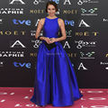 Royal Blue Pants Suit Celebrity Dresses Elegant Custom Made Party Dress 2017 Satin Vestido De Festa Formal Dresses Evening Gown