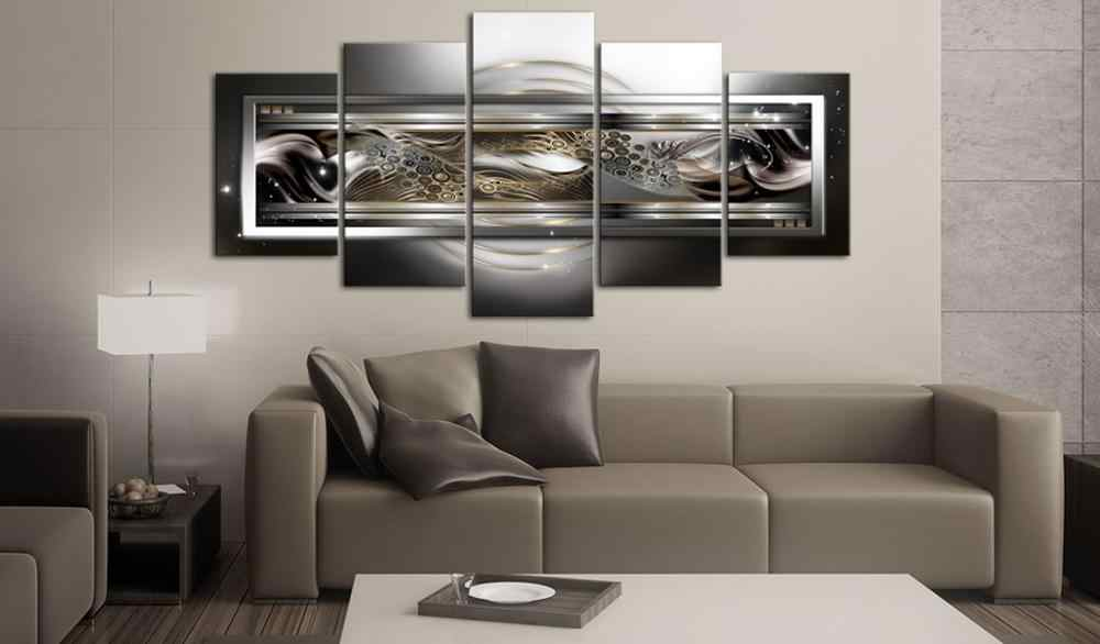 5 pieces/set Abstract poster night view Picture Print Painting On Canvas Wall Art Home Decor Living Room Canvas Art PJMT-B (239)